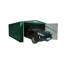 Garage en métal 20,52m² Oxford vert Gardiun