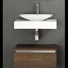 Plan de toilette pour vasque Surface Tegler