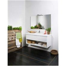 Meuble Life 1 tiroir y 1 étagère sans plan vasque B10