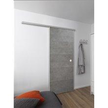 Porte coulissante Gris Ciment Door in Box...