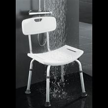 Siège de douche avec dossier OXER