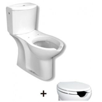 WC complet réservoir bas Accessible