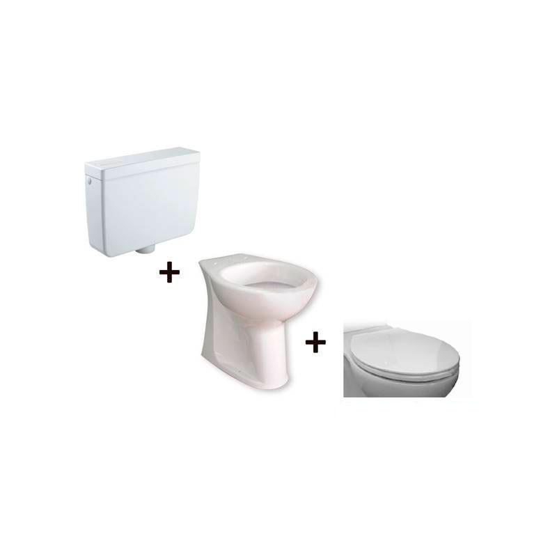WC complet réservoir haut Accessible