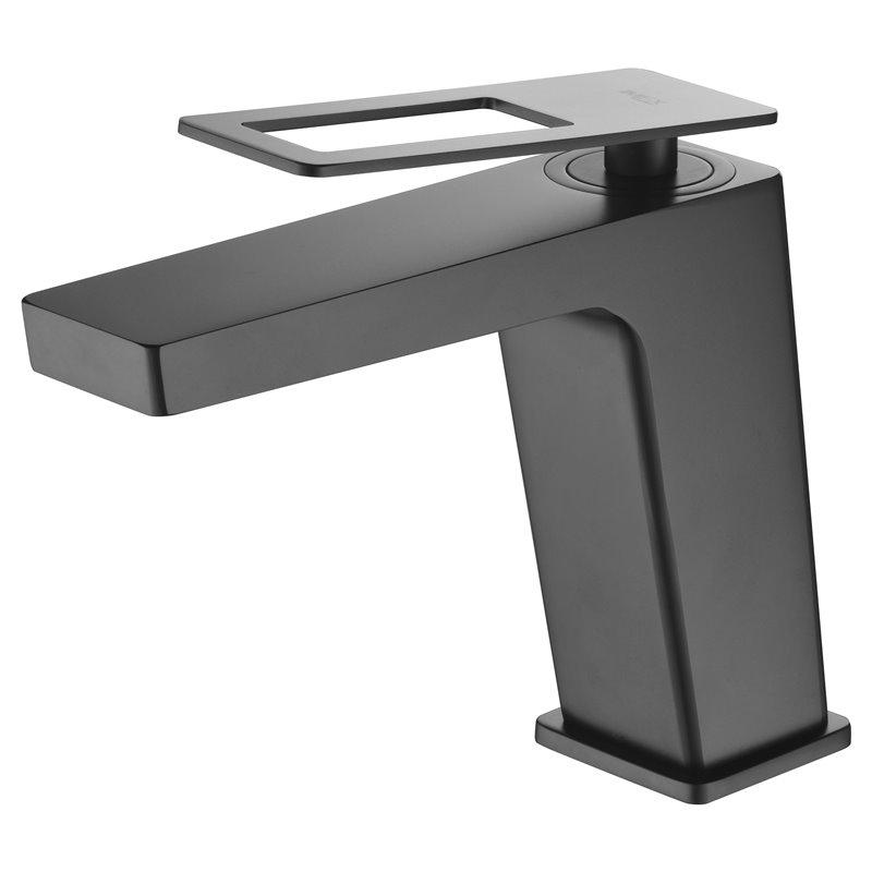 Robinet de lavabo noir mat Suède Imex