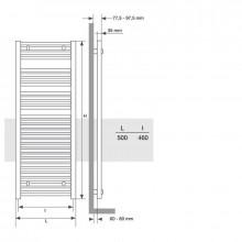 Sèche-serviettes Mithos Omicron Electric 75 STILLÖ