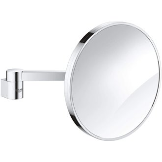 Miroir grossissant chromé Selection Grohe