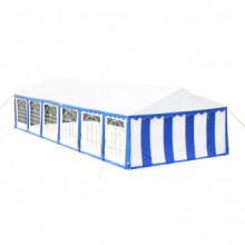 vidaXL Tente de réception 12 x 6 m Bleu