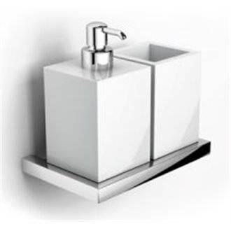 Porte-verre et distributeur de savon PLAN Sanindusa