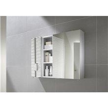 Armoire de toilettte 50 cm blanche Luna Roca