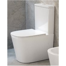 WC Rimless Turin Aquore