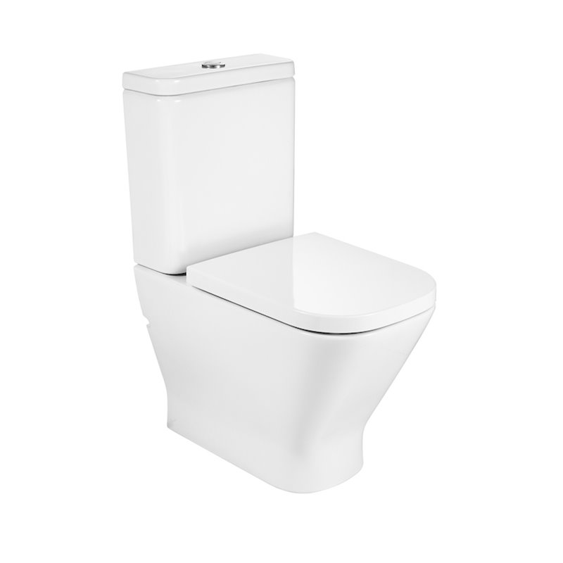 WC Rimless réservoir bas The Gap Roca