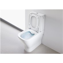 WC Rimless réservoir bas The Gap Roca