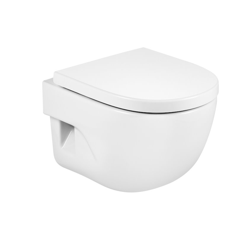 WC compact suspendu Meridian Roca