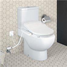 WC mobilité réduite réservoir bas Meridian Roca Multiclean