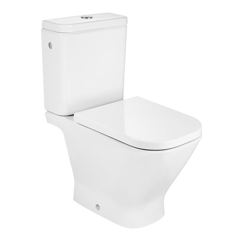 WC Rimless complet The Gap Square Roca