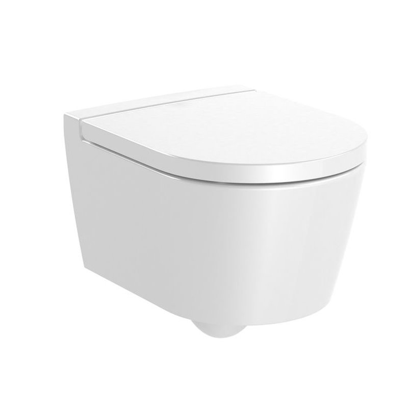 WC Rimless compact suspendu Inspira Round Roca