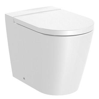 WC Rimless à fixer au mur Inspira Round Roca