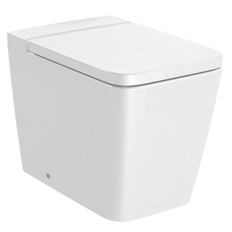 WC Rimless réservoir haut Inspira Square Roca