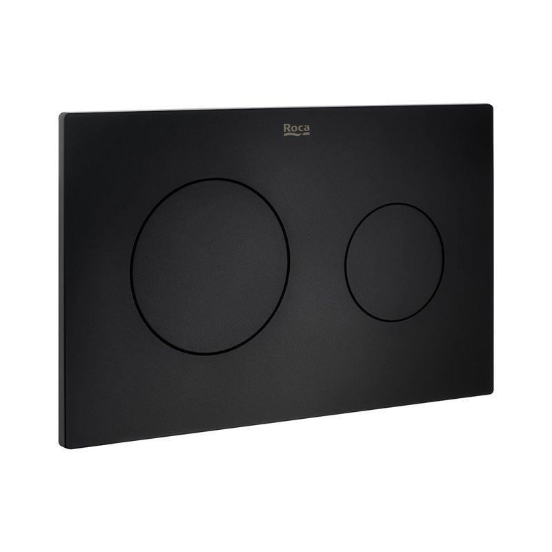 Plaque PL10 Noir mat Dual One Roca