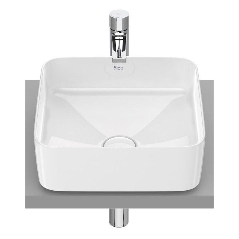 Vasque à poser Inspira Square Roca 37 x 37 cm