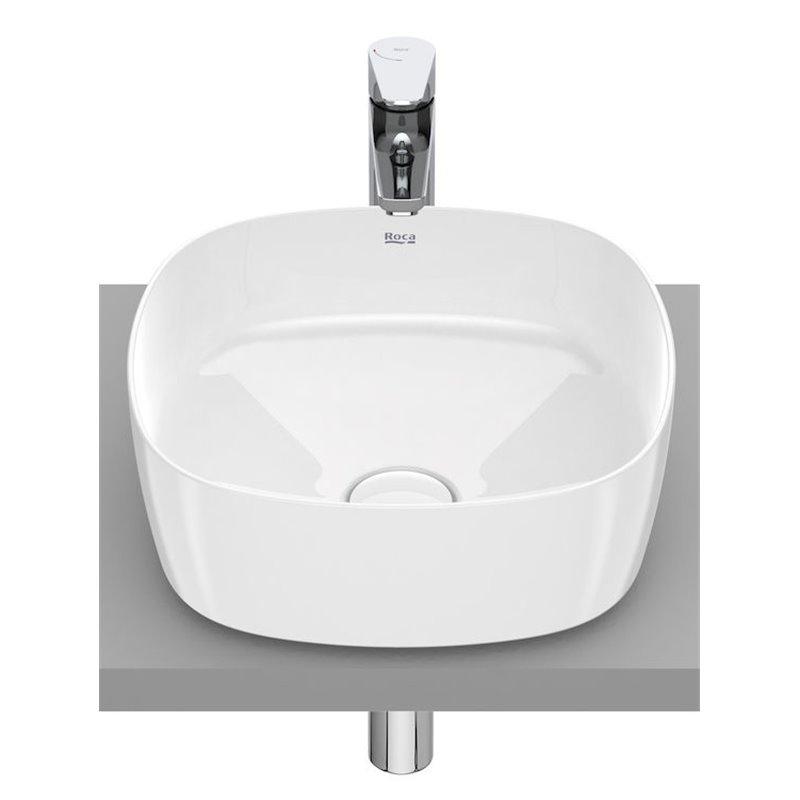 Vasque à poser Inspira Soft Roca 37 x 37 cm