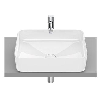 Vasque à poser Inspira Square Roca 50 x 37 cm