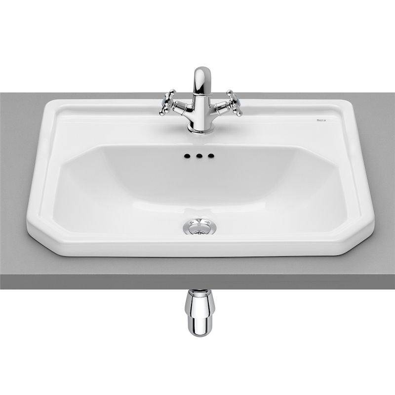 Vasque à encastrer sur plan Carmen Roca 60 x 45 cm
