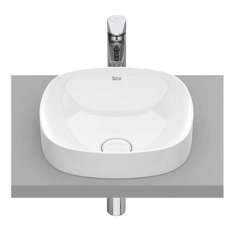 Vasque semi-encastrée Inspira Soft Roca 37 x 37