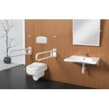 Barre d'appui pivotante WCCARE 75 pour WC Sanindusa