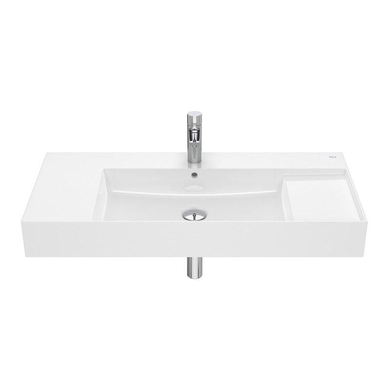 Plan vasque mural ou à poser Inspira 100 cm Roca