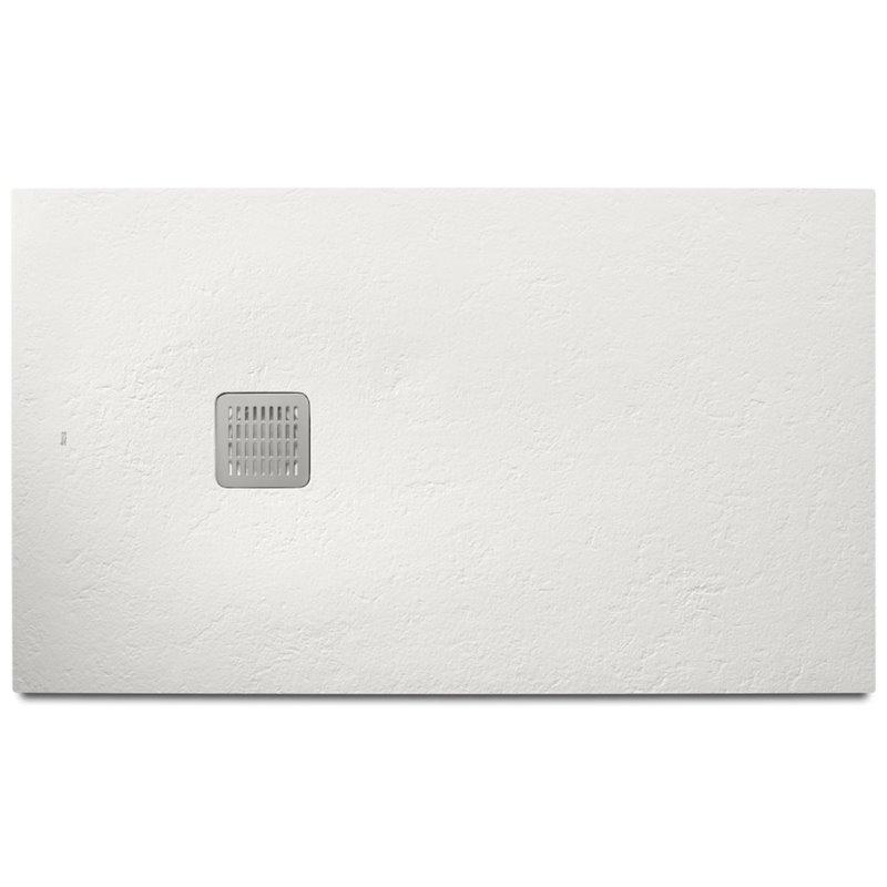 Receveur de douche 160x80cm blanc mat Terran Basic Roca