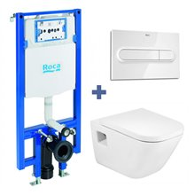 Pack WC suspendu THE GAP COMPACT ROCA