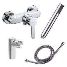 Robinet de douche avec kit de douche inclus Arctique Urbain Clever