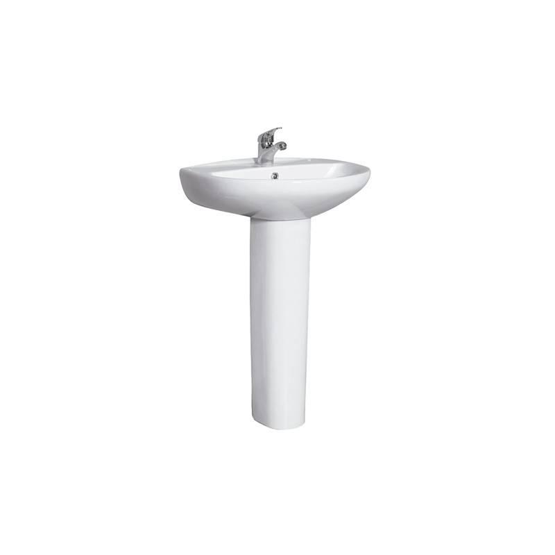 lavabo sur colonne id al 10045130 habitium. Black Bedroom Furniture Sets. Home Design Ideas