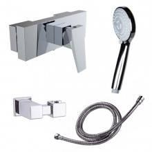 Robinet de douche avec kit de douche Ventu Clever