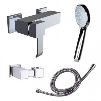 Robinet de douche avec kit de douche Marina Evo Clever