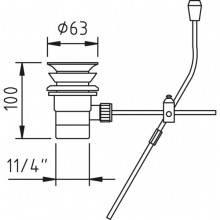 Système de vidage automatique métallique Clever