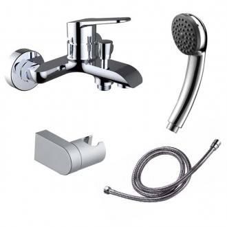 Robinet de baignoire avec kit de douche Start Élégance Clever
