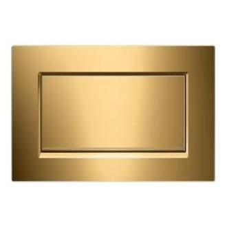 Plaque de chasse unique Sigma30 Gold Lux Geberit