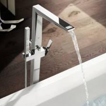 Robinet mitigeur pour baignoire ou douche Grohe Allure Brilliant sur pied