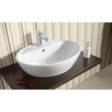 Vasque à poser Gala Soft 57,5 x 45,5 cm avec perçage pour robinet