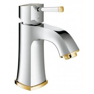 Robinet de lavabo Grohe Grandera M lisse or