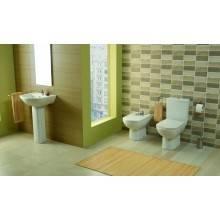 Lavabo carré avec colonne Smart 60 x 48 cm