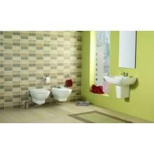 WC suspendu Gala Smart réservoir haut