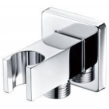 Sortie de flexible de douche et support pommeau carré CR Imex