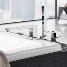 Ensemble de pièces de robinet pour baignoire et douche Grohe Eurocube