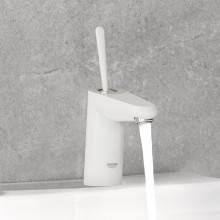 Robinet de lavabo S Moon White Grohe Eurodisc Joy