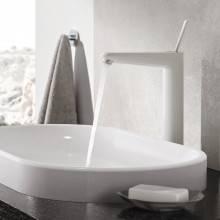 Robinet de lavabo XL Moon White Grohe Eurodisc Joy
