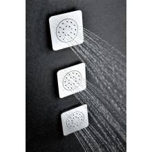 Jet de douche avec base carrée Imex