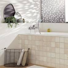 Robinet de douche et baignoire avec levier à fente Grohe Eurostyle